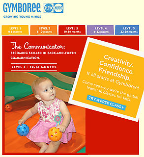 Free Trial Class at Gymboree